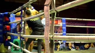 Thailand Brutal Muay Thai Fight  Ko Chiang Mai