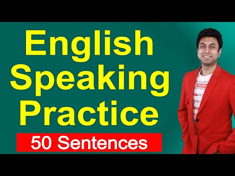 English Speaking Practice | 50 Sentences for Daily Use |  Awal