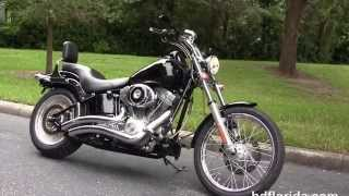6. Used 2006 Harley Davidson FXST Softail Motorcycles for sale
