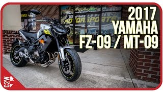 4. 2017 Yamaha FZ-09 / MT-09 | First Ride