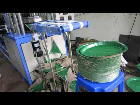 Fully Automatic paper plate making machine & Download Fully Automatic paper plate making machine Video