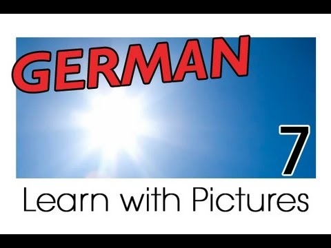 Learn German – German Weather Vocabulary