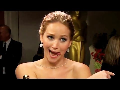 lawrence - Jennifer Lawrence Top 5 Funniest Moments in honor of her latest fangirl run in with Homeland star Damien Lewis at the 2014 SAG Awards. ▻ http://bit.ly/ENTVSu...