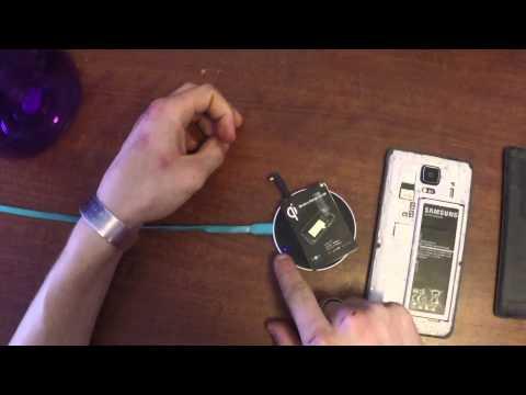 Samsung Galaxy Note Edge Wireless Charging  photos
