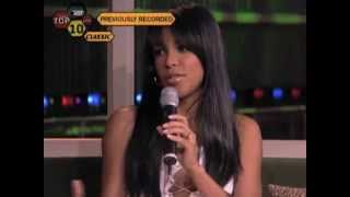Aaliyah's last interview [21st August, 2001] HQ - YouTube