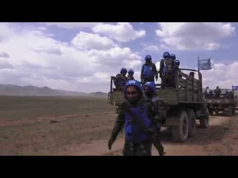Philippine Armed Forces In United Nations Convoy Training