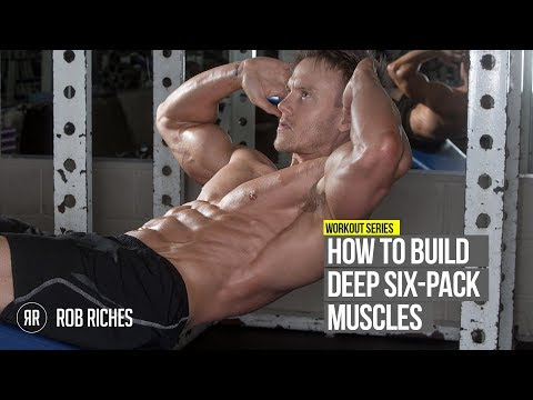How to get Insane Ripped Six Pack Abs (Rob Riches)