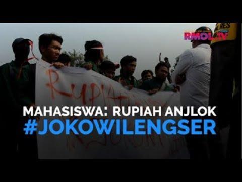 Mahasiswa: Rupiah Anjlok #JokowiLengser