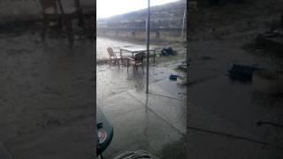 İzmir'den dolu yağışı, az önce hava patladı