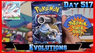 Pokemon Pack Daily Evolutions Booster Opening Day 517 - Featuring Kevsbud by ThePokeCapital
