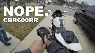 9. Budget Motorcycle Build: Why I Said NO To This CBR600rr