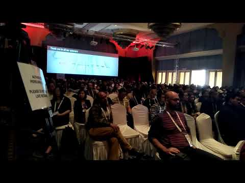 (Founder of Viptela Inc, Amir Khan Keynote Speaker .... 17 minutes.)