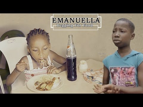 Emanuella Begging For Food (mark Angel Comedy) It Is All About Food