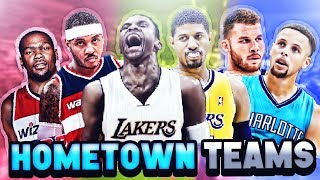 Video 7 BEST NBA TEAMS IF EVERY PLAYER PLAYED FOR THEIR HOMETOWN MP3, 3GP, MP4, WEBM, AVI, FLV Desember 2018