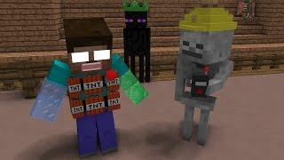 Video Monster School: Magic Hats Fight - Minecraft Animation MP3, 3GP, MP4, WEBM, AVI, FLV Januari 2019