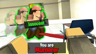 ROBLOX MURDERER NEW MURDER MYSTERY GAME