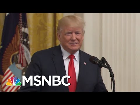 Donald Trump Says He Could Run The Mueller Investigation If He Wanted To | The 11th Hour | MSNBC (видео)