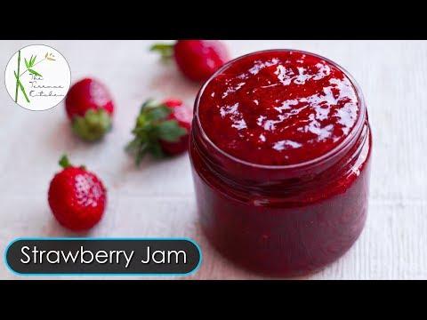 Homemade Strawberry Jam | 2 Ingredients Strawberry Jam Recipe | Tasty Jam ~ The Terrace Kitchen
