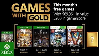 Games with Gold di settembre