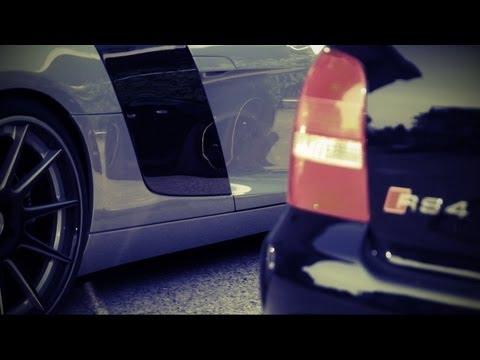 Audi R8 Kompressor (572PS) & Audi RS4 B5 Stage 3 (500PS)
