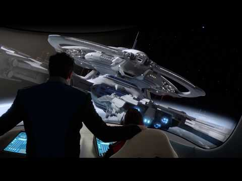 The Orville - Captain First Time Meet The Crew Scene