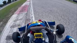 Castel Volturno Italy  city photo : Kart 100 On-Board Pista Italia Castelvolturno (CE) First FX8/TM Racing K11