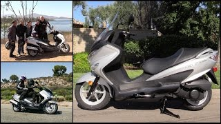 6. Greg's Garage: First Ride, 2014 Suzuki Burgman 200! - Ep #36 - Seg 2