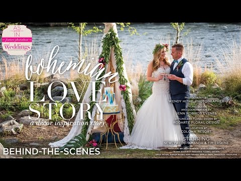Sacramento Wedding Inspiration: Bohemian Love Story {Behind-the-Scenes}