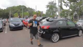 Autoline's 2010 Mitsubishi Lancer Sportback GTS Walk Around Review Test Drive