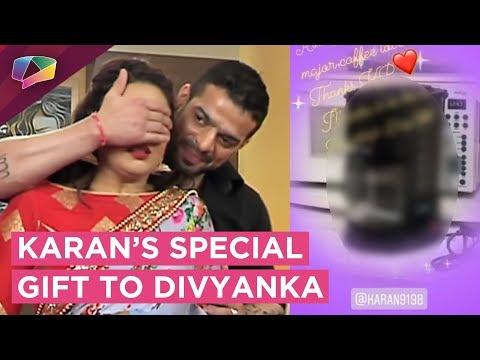 Karan Patel Gives A Special Gift To Divyanka Tripa