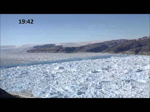 Greenland - In July 2010, researchers Timothy James and Nick Selmes were installing instruments on the south shore of Helheim Fjord in Greenland when they heard the most...