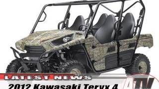 8. ATV Television - 2012 Kawasaki Teryx 4 First Look