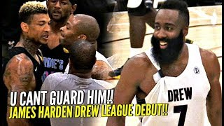 Video James Harden Drew League Debut Got SUPER HEATED!! NBA MVP vs Drew League MVP WENT AT IT!! MP3, 3GP, MP4, WEBM, AVI, FLV Agustus 2019