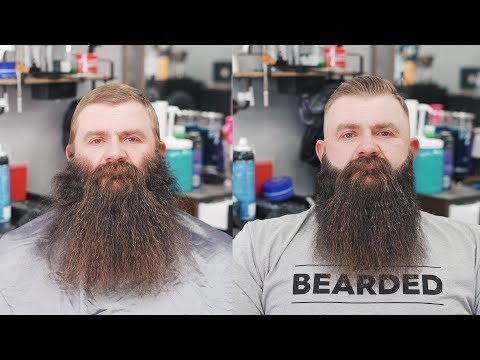 Insane Beard Trim Transformation