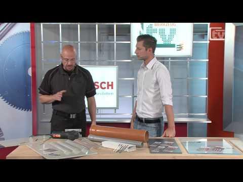 WERKZEUG TV Bosch Säbelsägeblätter für Faserdämmstoffe und Stichsägeblätter für Kunststoffe