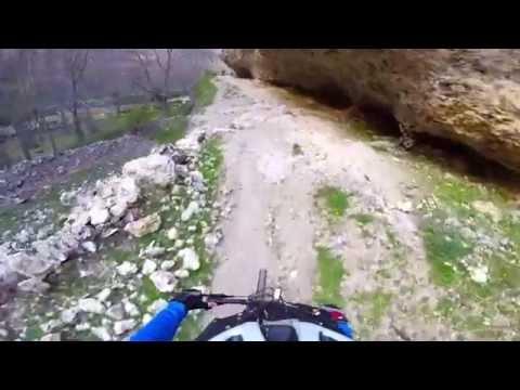 Karaman'ın Grand Kanyon'unda Dağ Bisikleti Saferisi
