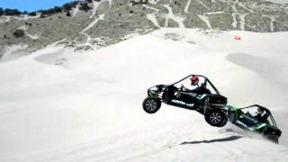 4. ARCTIC CAT WILDCAT JUMPING