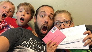 Opening Fan Mail LIVE!