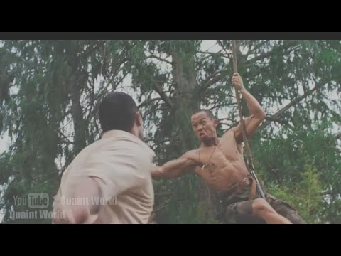 Dwayne Johnson Vs. Ernie Reyes Jr. Best Jungle Fight Scene | The Rundown Action Movie