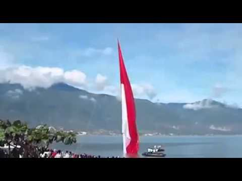 The Biggest Indonesian Flag