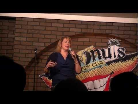 Trish Keating Comedy 90 second clip Coconuts Comedy Club 2/9/13