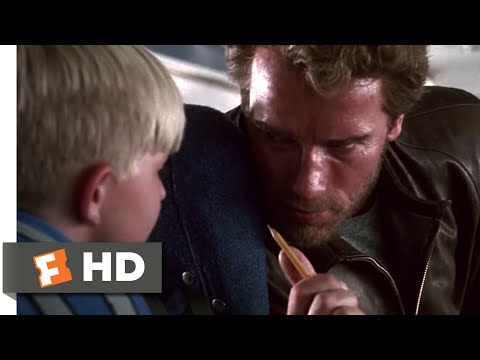 Kindergarten Cop (1990) - Kids on the Plane Scene (2/10) | Movieclips