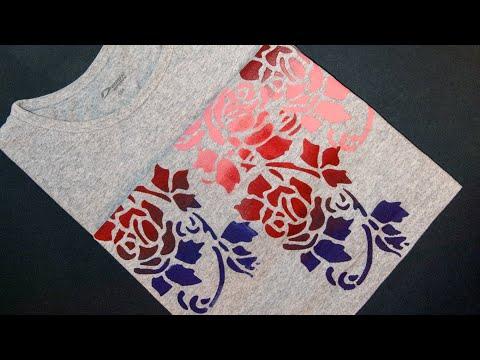 Мастер класс росписи по ткани акриловыми красками