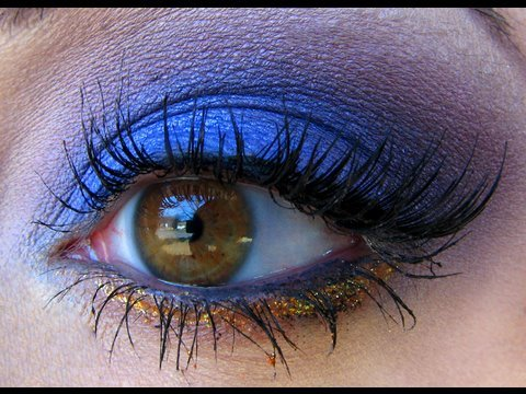 ~Blueberries and Cherries Makeup Look~