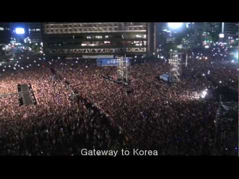 PSY Gangnam Style 싸이 강남 스타일 Seoul City Hall Concert Korea For Fan