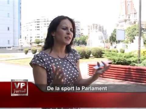 De la sport la Parlament