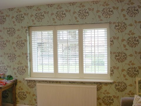Find out how interior window shutters are opened and closed with a Tpost design