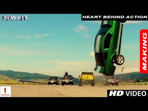 Dilwale - Action - Behind the Camera - Shahrukh Khan, Rohit Shetty