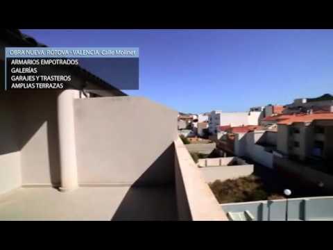 Promoción de Obra nueva Rótova - Valencia