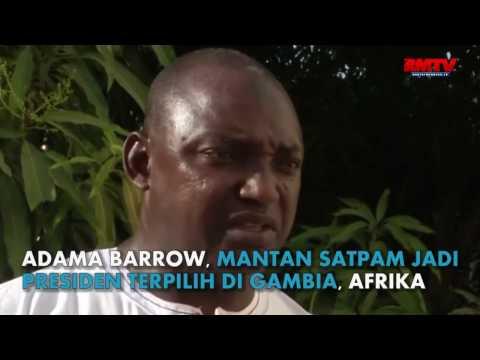 Mantan Satpam Inggris Jadi Presiden Gambia